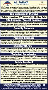 planning engineer jobs in dubai uae for americans hospital jobs in al faraa general contracting vacancies in al faraa