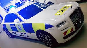 rolls royce dark blue rolls royce ghost police car is for the affluent offenders