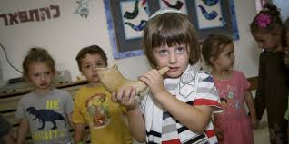 kids shofar kids shofar rosh hashana poor poverty children holidays breaking