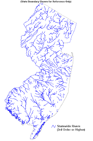 New Jersey rivers images Bureau of gis gif