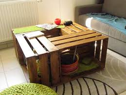 How To Make Wine Crate Coffee Table - how to make wine crate coffee table diy u0026 crafts handimania