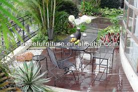 outdoor metal spring chair furniture metal mesh patio furniture