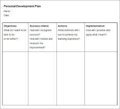 hr development plan template personal development plan hatch urbanskript co