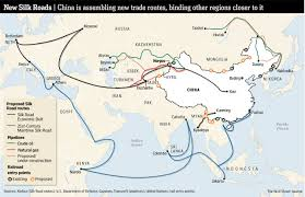 One World Route Map by Why Is China Building A New Silk Road World Economic Forum