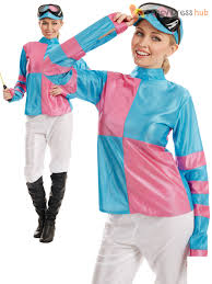 costumes for adults jockey costume adults rider racer fancy dress womens