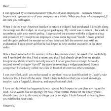 free printable complaint letters