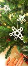 diy star ornaments made from washers washer hardware and ornament