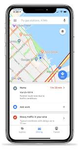 Google Map Directions Driving Google Maps For Ios Catches Up With Android Version Adds Driving