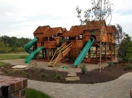 Backyard Adventure Playset by Treehouse Combo Extreme