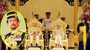 sultan hassanal bolkiah wives gold wedding sultan of brunei u0027s son prince abdul malik married