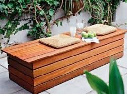 Bench Storage Seat Outdoor Waterproof Storage Bench Foter