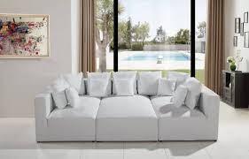 sofa modern leather sectional small sectional couch modular sofa