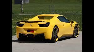 mobil balap keren gambar mobil ferrari kuning youtube
