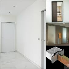modern frosted glass door for interior home design with white