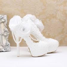 wedding shoes high online shop koovan wedding shoes 2017 fashion white pearl lace
