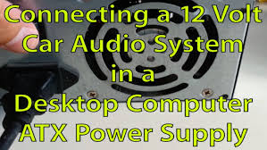 how to connect car stereo to computer atx power supply pioneer