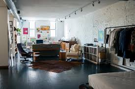 the unplanned designers u0027 loft in brooklyn remodelista