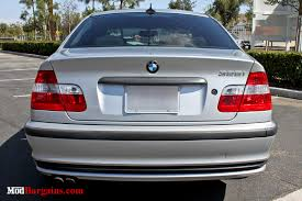 2002 bmw 330i tail lights clear smoked bmw e46 sedan 4 piece taillights