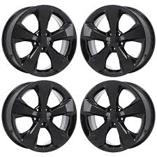 2017 white jeep black rims 2017 jeep cherokee oem factory 5xt12dx8aa original 18 oe black