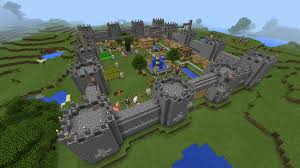 Giant Map Giant Castle Minecraft Map Android Apps On Google Play