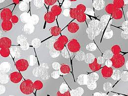 silver christmas wrapping paper metallic silver winter branches berries christmas wrapping