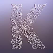 letter k on behance
