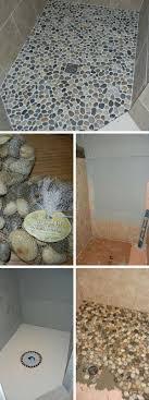 river rock bathroom ideas the 25 best pebble shower floor ideas on shower