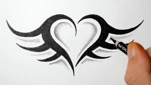 download easy heart tattoo designs danielhuscroft com