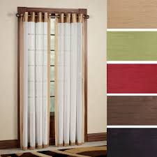 Eclipse Patricia Curtains by Brown Grommet Curtain Panels Mommaon Decoration