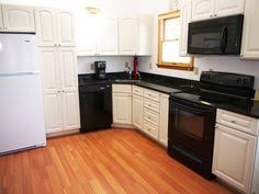 Kitchen White Cabinets Black Appliances Quakertown 4 Bedroom House For Sale Black Appliances White