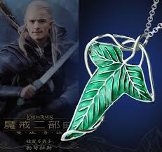 movie jewelry rings images Movie jewelry lord of the rings song fellowship leaves necklace jpg
