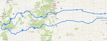 Canyon City Colorado Map by Road Trips J Dawg Journeys