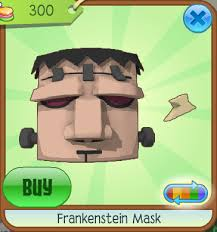 frankenstein mask frankenstein mask animal jam wiki fandom powered by wikia