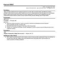 Sample Resume Nz by Sales Resume