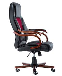 Office Star Leather Chair Foxhunter Computer Executive Office Desk Chair Pu Leather Swivel