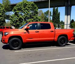 toyota wheel size largest tires for stock trd pro toyota tundra forum