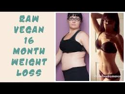 my raw vegan before and after weight loss transformation pt ii