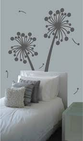169 best wall decals images on pinterest vinyl lettering vinyl sale contemporary dandelion extra large vinyl wall decals 35 00 via etsy