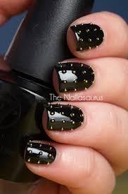 Black Manicure Designs 22 Bold Black Nail Designs More Com
