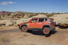 moab jeep safari 2014 daystar products international jeep renegade hitting the trails in
