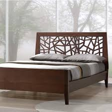 south shore gloria queen wood platform bed 3659203 the home depot