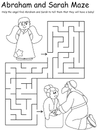 abraham and isaac coloring page abraham and sarah maze gif abraham u0027s special visitors
