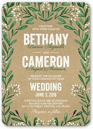Succulent Wedding Invitations Splendid Succulents 5x7 Wedding Invitations Shutterfly