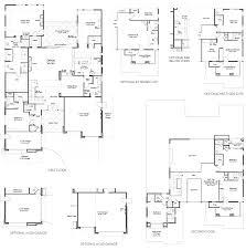 3 Car Garage Floor Plans Residence 3 Silver Ridge Silver Ridge