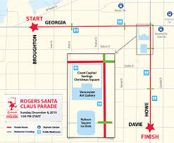Vancouver Skytrain Map See Jolly St Nick At The Rogers Santa Claus Parade Vancouver 2015
