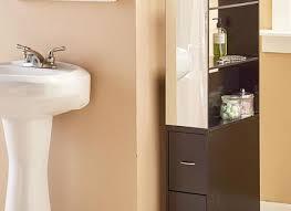 Bathroom Storage Shelf Bathroom Storage Cabinet Slim White 8 Drawer Tall Furniture Shelf