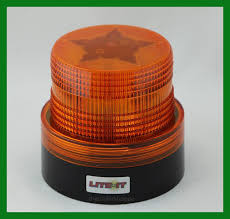 magnetic battery operated led lights battery operated amber led beacon safety flashing light warning
