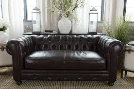 Black Leather Chesterfield Sofa Darby Home Co Fiske Leather Chesterfield Sofa Reviews Wayfair