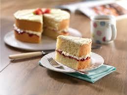 victoria sponge cake recipe bake with stork