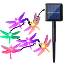 Patio Lights For Sale Solar Led Dragonfly String Lights Online Solar Led Dragonfly